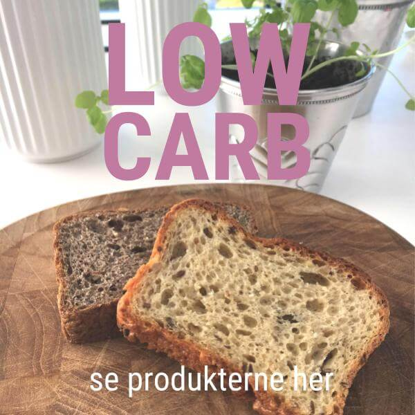 "Square ""Low carb brød"""