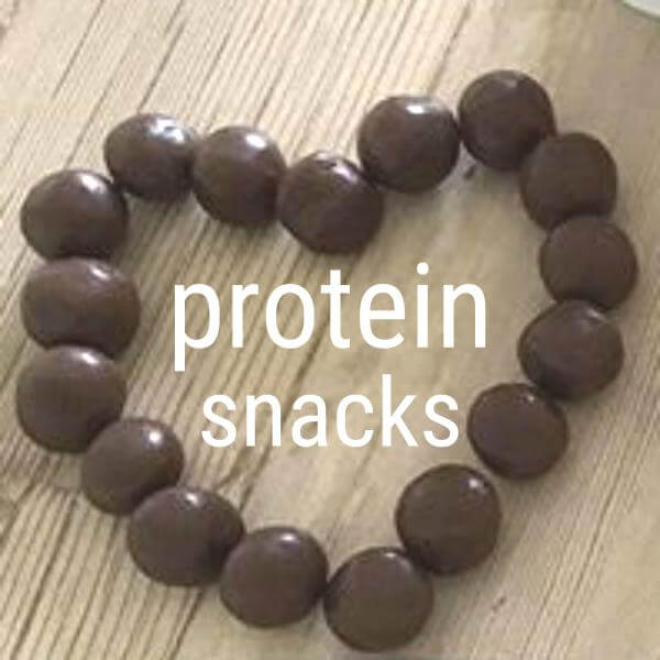 "Square ""Protein snacks hjerte"""